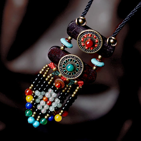 Bouddha Ethnic Necklaces FASHION