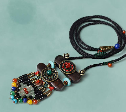 Image of Bouddha Ethnic Necklaces FASHION