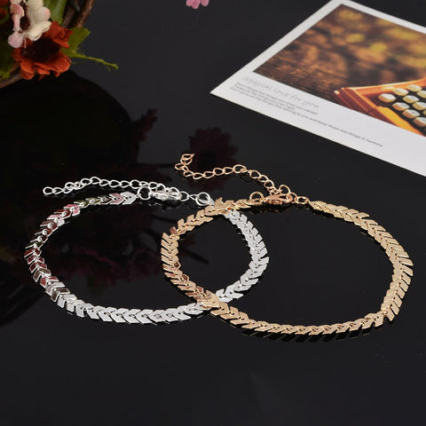 Image of Anklets Women Heart for Women
