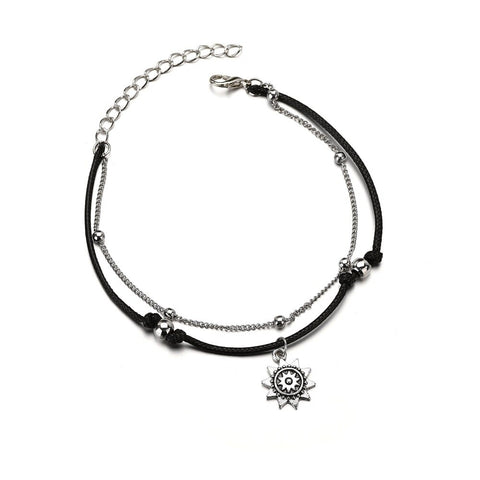 Image of Anklets Fashion Heart New style for women