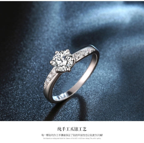 Image of anti-allergy ladies`wedding rings