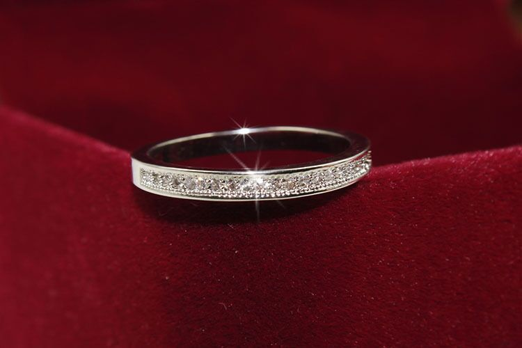 Sterling Silver Rings High Quality  for Women Wedding