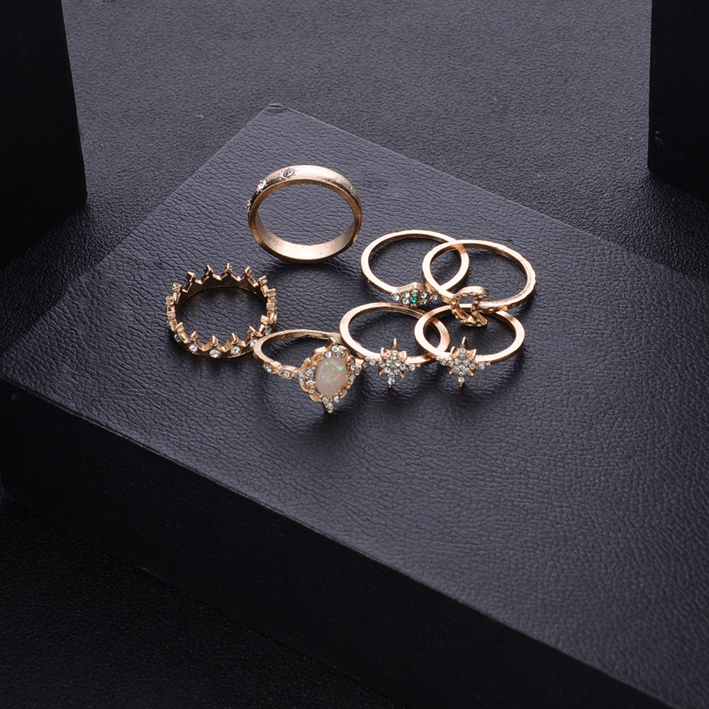 Bohemian Star Rings for women  Fashion