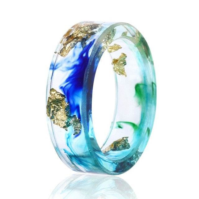 Resin Rings for Women and Men Jewelry