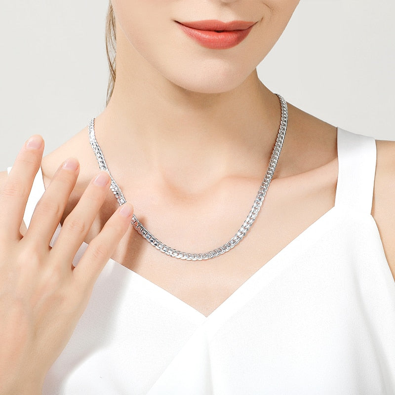Necklace Link Chain  for Women and Men