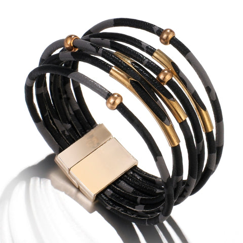 Leather Wrap Bracelets For Women 2019 Fashion