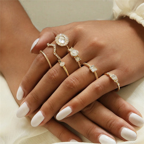 Image of Rings For Women Handmade Geometry For Gifts