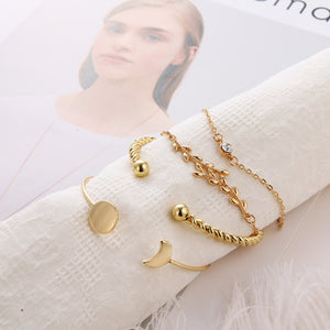 Women Fashion Party Rope Chain Bracelets