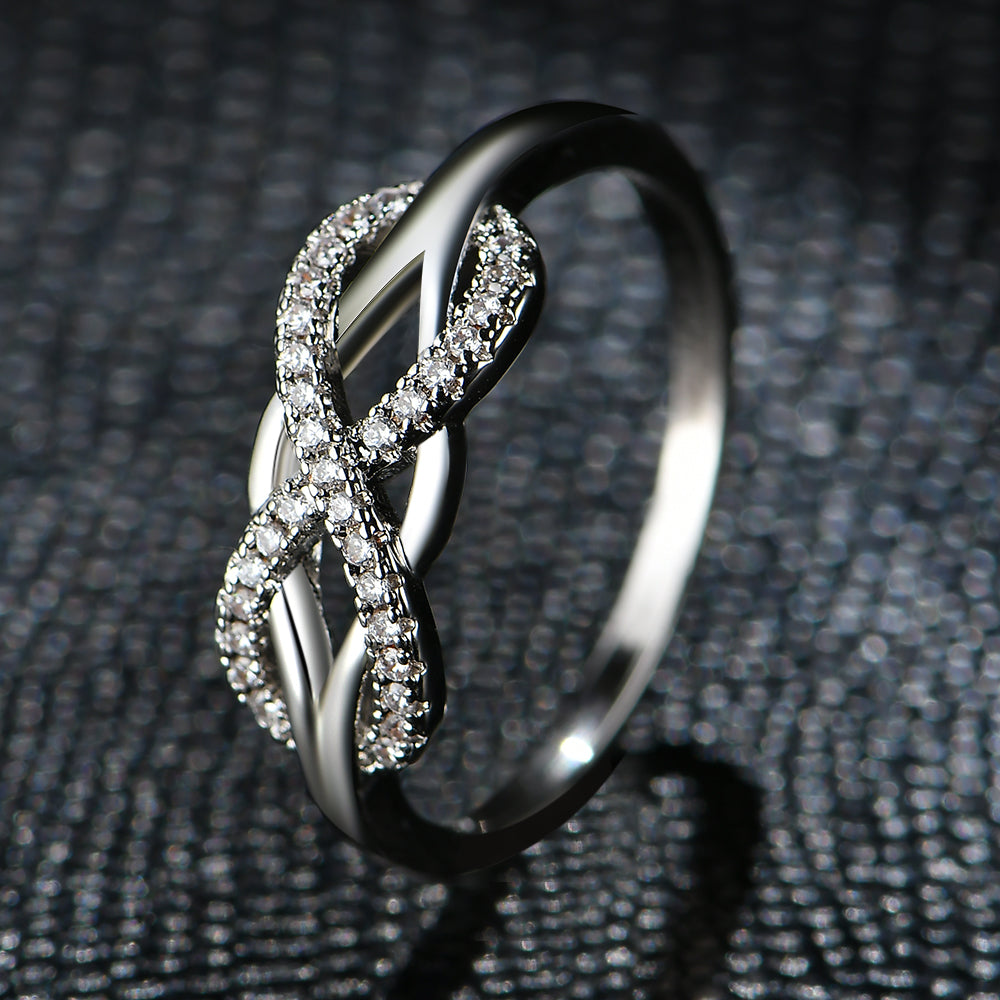 Fashion Infinity Love Rings  For Women