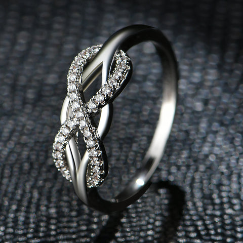 Image of Fashion Infinity Love Rings  For Women
