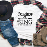 Christian Tee - Uniquely Soft Extra Light Triblend designed as Daughter Of The King