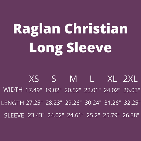 Raglan Christian Tee with 3/4 Sleeves is a Loose Fit Tri-Blend designed as Blessed Is She