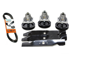 "Ajanta Deck Rebuild Replacement  kit Compatible with Cub Cadet: LT1045, 2008 and newer, iT1406, LT1046 and LT1046 with 46"" deck using Special Design 6 PT. Star Center Hole"