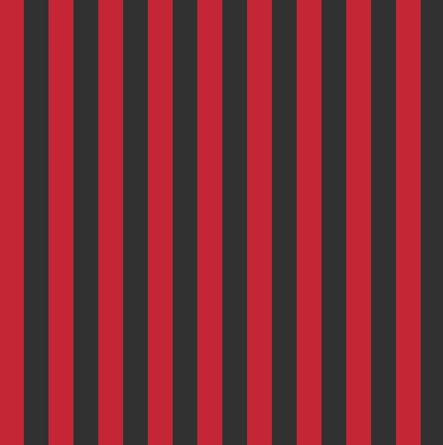 Burtonesque Wonderland - Red and Black Striped - Bodysuit