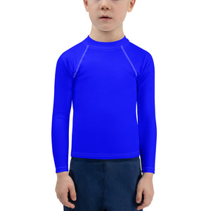 Blue chroma key costume - Kids top