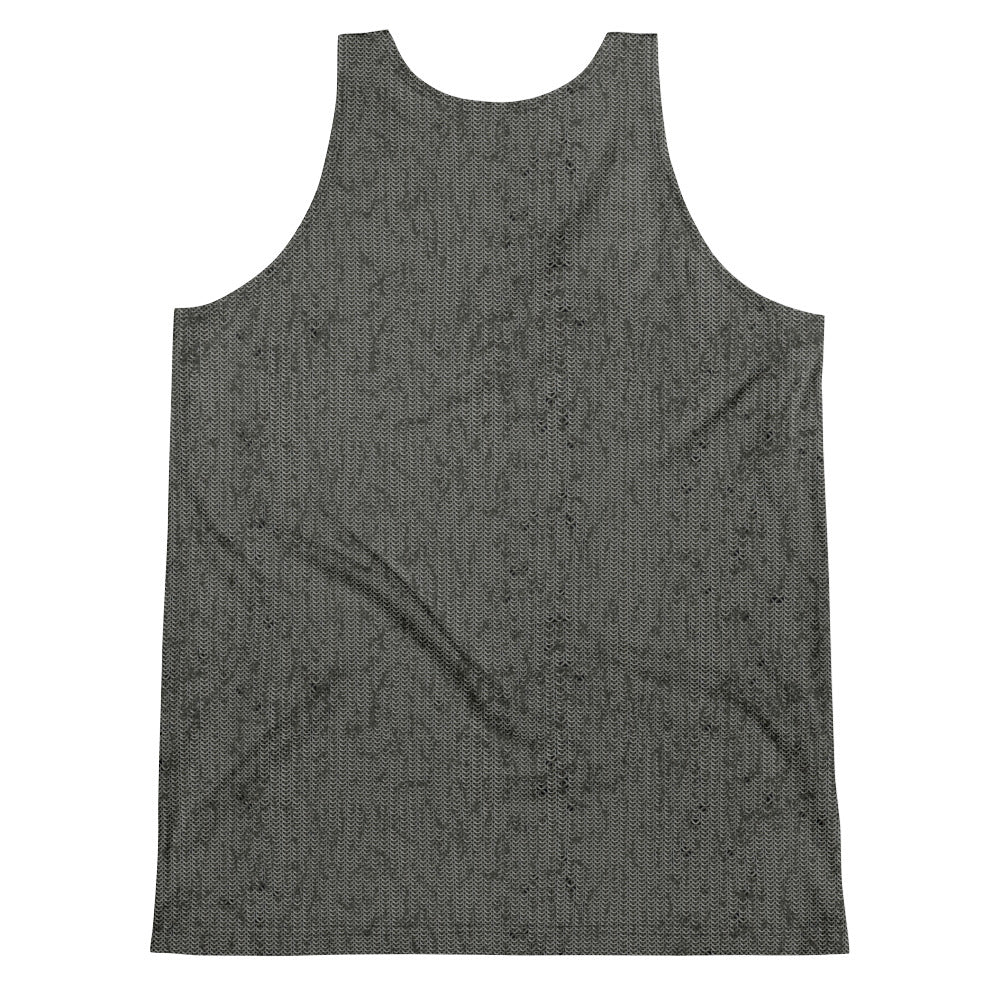 Thrones - Knight - Chainmail print - Unisex Tank Top