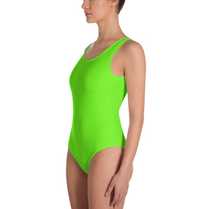 Green chroma key costume - One-Piece Swimsuit