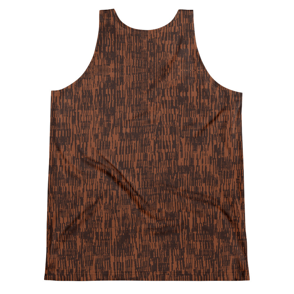 Circle of Life - Brown Fur Print - Unisex Tank Top