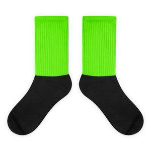 Green chroma key costume - Socks