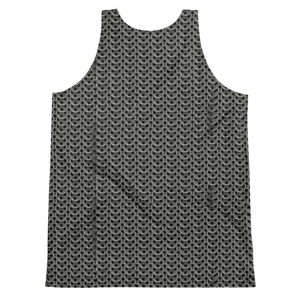 Thrones - Giant - Chainmail print 2 - Unisex Tank Top
