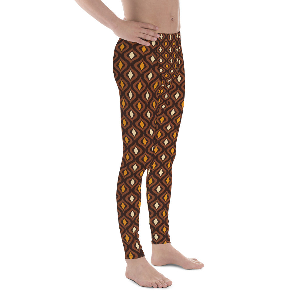 Circle of Life - Africa Print - Men's Leggings