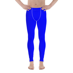 Blue chroma key costume - Men's Leggings