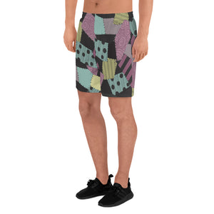 Sally & Jack's Nightmare - Men's Athletic Long Shorts
