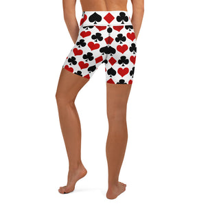 Burtonesque - Wonderland - Queens Cards - Acrobat Shorts