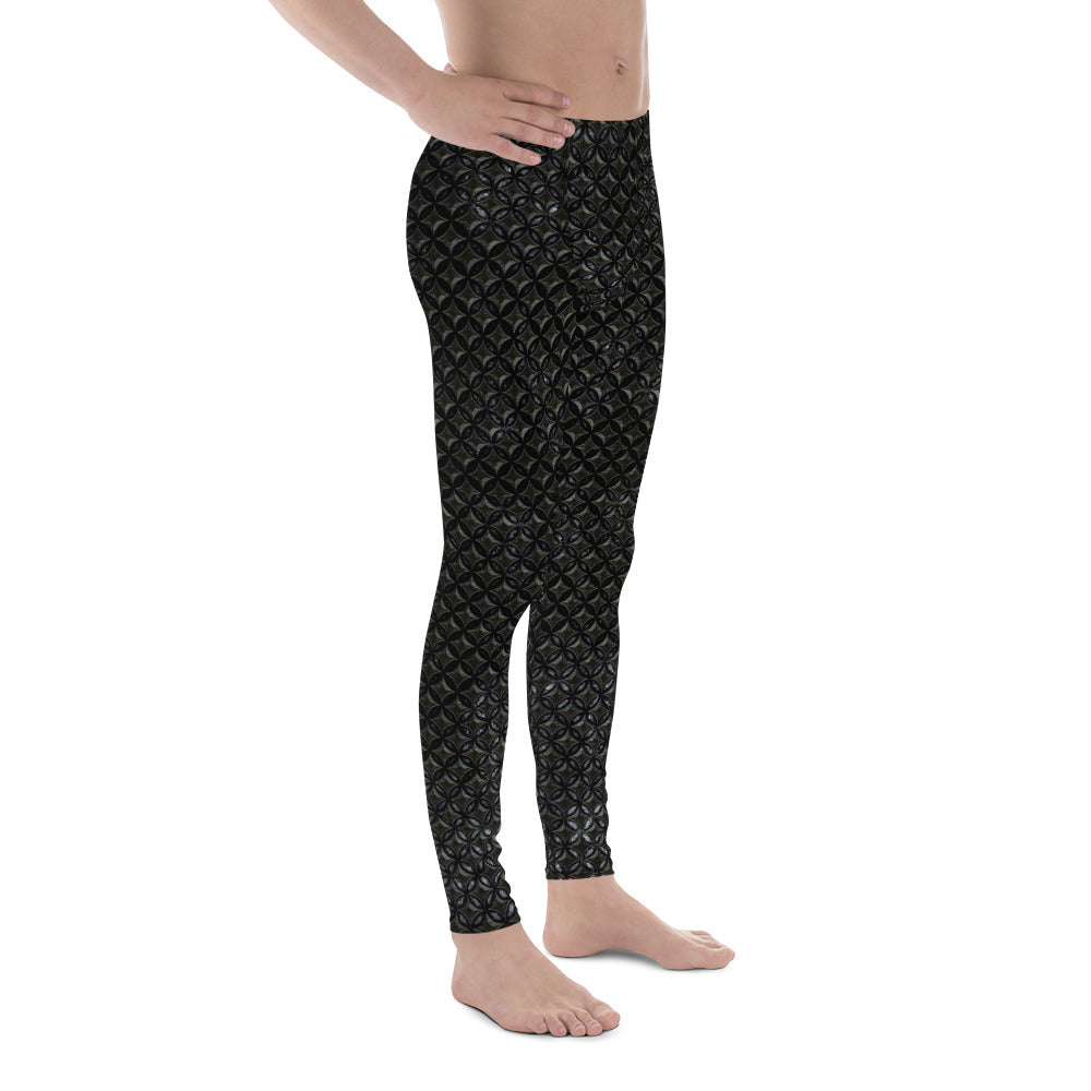 Thrones - Raven - Chainmail print - Men's Leggings
