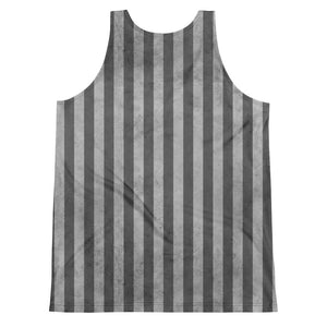 Burtonesque Circus - Slate stripes - Unisex Tank Top
