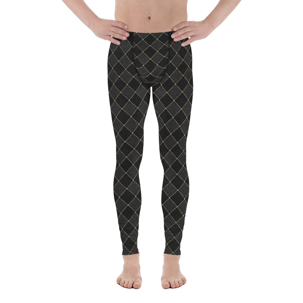 Burtonesque Circus - Black Jester - Men's Leggings