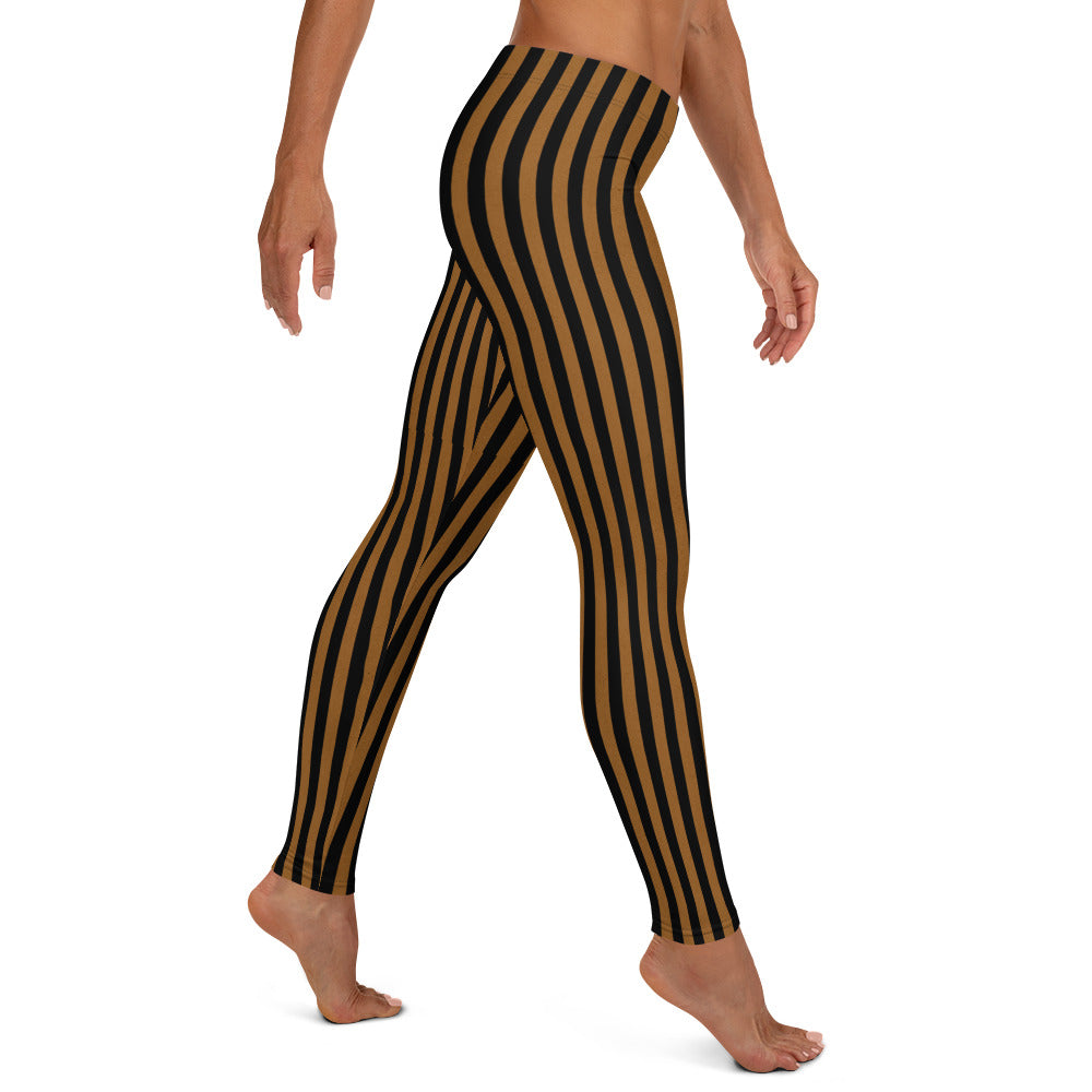 Tim Burton joker circus costume circus stripes leggings