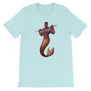 Gingerbread Jock Merman - Short-Sleeve Unisex T-Shirt