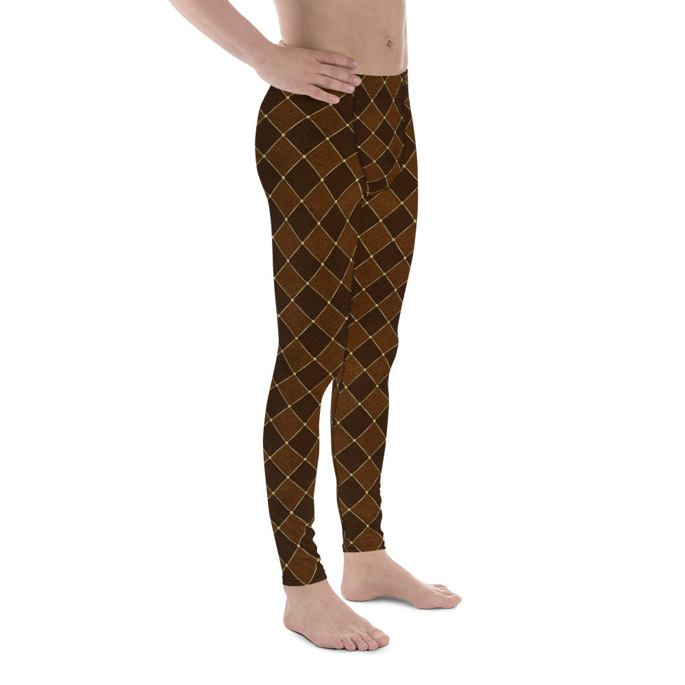 Burtonesque Circus - Steampunk Jester - Men's Leggings