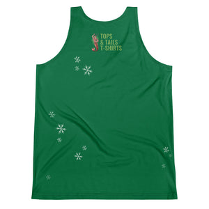 Dancer Reindeer on green - Premium vest