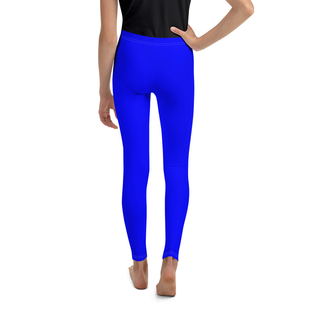 Blue chroma key - Teen Leggings