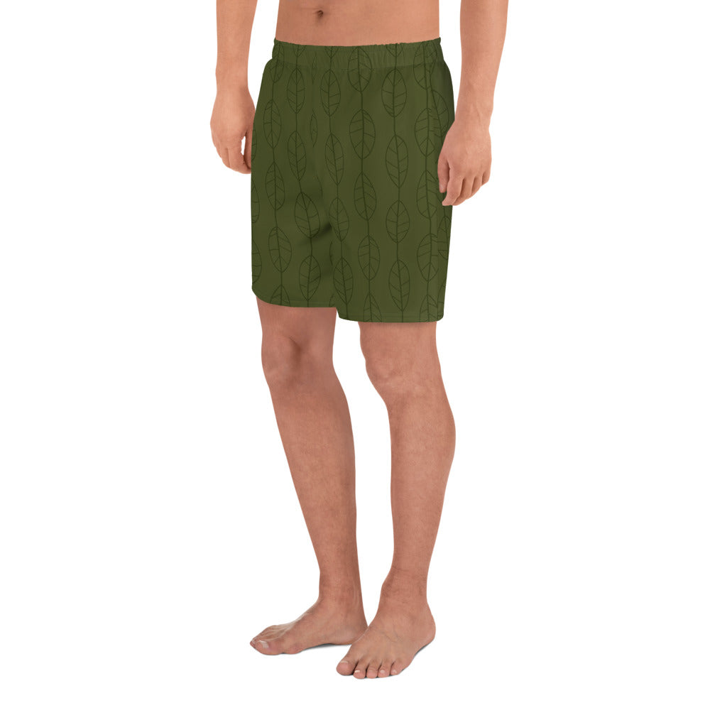 Circle of Life - Grasslands Print 1 - Men's Athletic Long Shorts