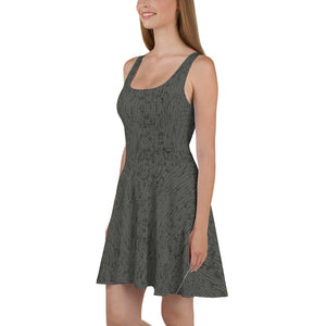 Thrones - Knight - Chainmail print - Marilyn Dress
