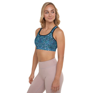 Thrones - Ice Dragon - Padded Sports Bra