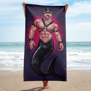 Leather Daddy - Beach Towel - USA