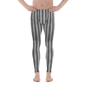 Burtonesque Circus - Slate stripes - Men's Leggings