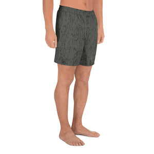 Thrones - Knight - Chainmail print - Men's Athletic Long Shorts