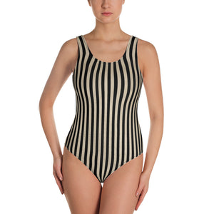 Tim Burton vintage circus striped female costume