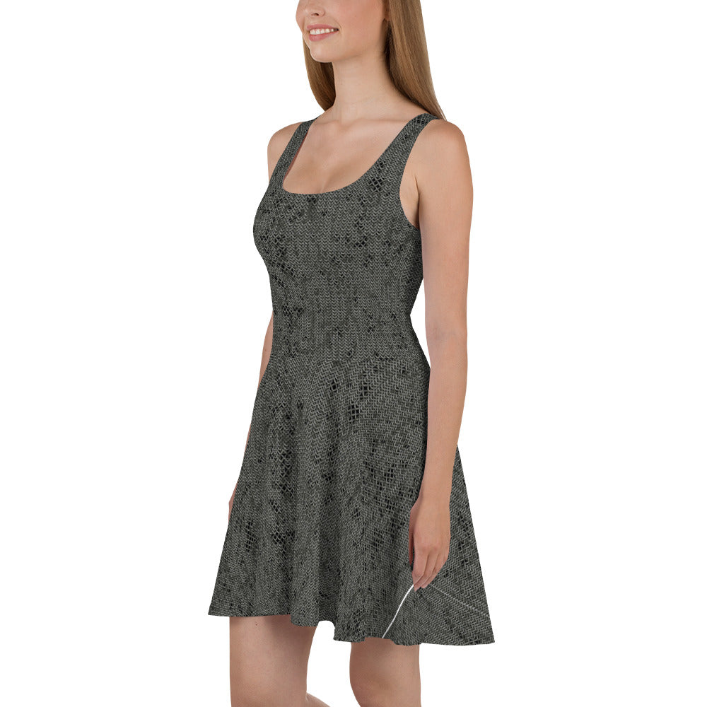 Thrones - Battle - Chainmail print - Marilyn Dress