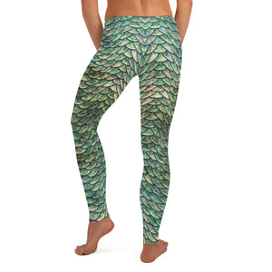 Thrones - Green Dragon - Female Leggings