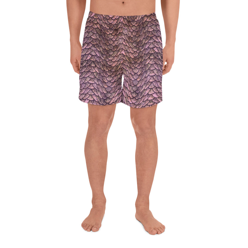 Thrones - Rose Dragon - Men's Athletic Long Shorts