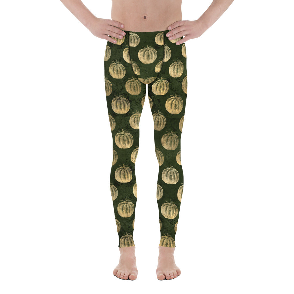 Halloween Costume - Scarecrow pumpkin patch - Men's Leggings
