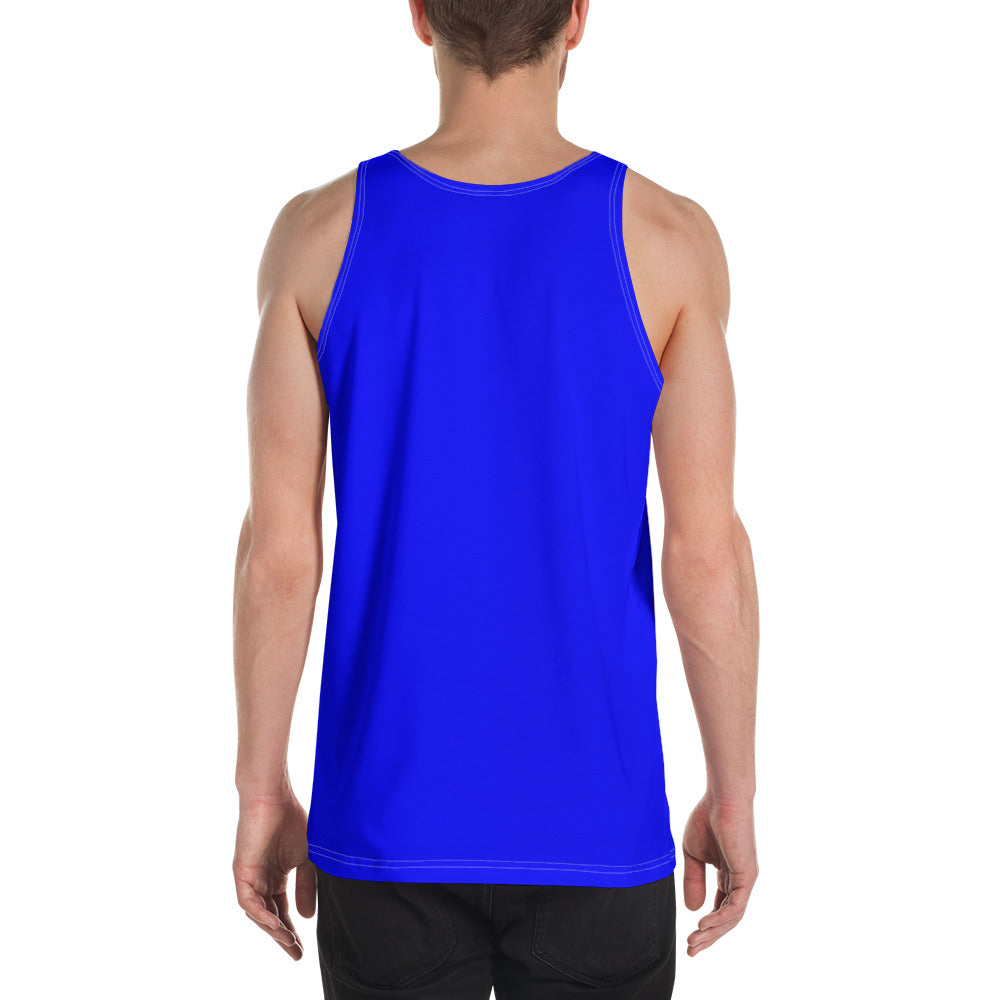 Blue chroma key costume - Unisex Tank Top