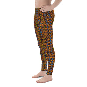 Circle of Life - Mystic Print 2- Men's Leggings