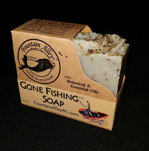 Gone Fishing Soap by Fountain Alley BodyCare